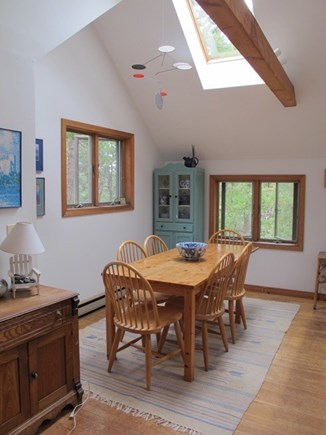 Wellfleet Cape Cod vacation rental - Beautiful light comes in from the skylight