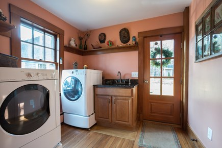 South Orleans Cape Cod vacation rental - Laundry Area with updated washer & Dryer