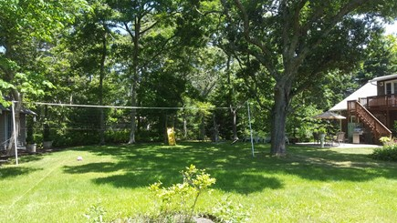 South Orleans Cape Cod vacation rental - Back Yard lots of room for the kids to play