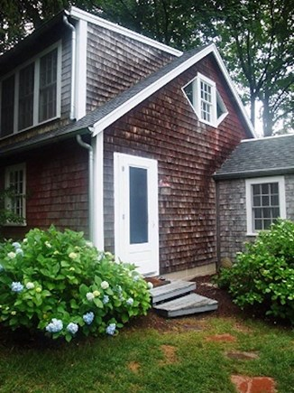 Wellfleet Cape Cod vacation rental - Entrance to the barn/guesthouse