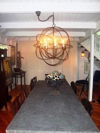 Wellfleet Cape Cod vacation rental - Dining table can seat plenty