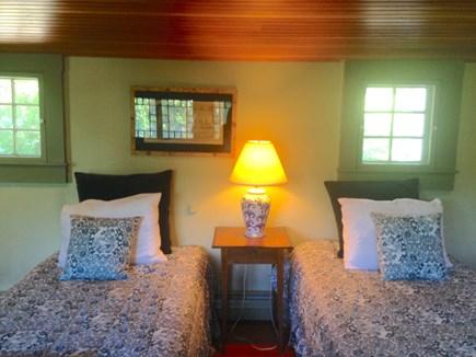 Wellfleet Cape Cod vacation rental - Upstairs bedroom with 2 twins and half bath