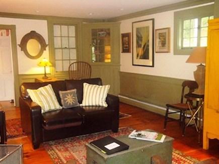 Wellfleet Cape Cod vacation rental - Sitting in the living room