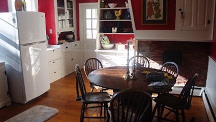 Wellfleet Cape Cod vacation rental - Kitchen with indoor dining