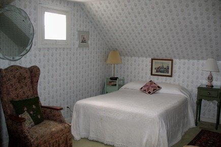 Falmouth Cape Cod vacation rental - Cozy double bedroom (second floor) - distant water view