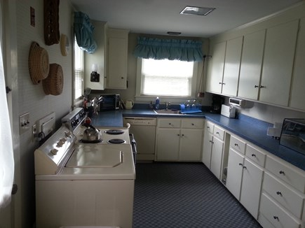 Falmouth Cape Cod vacation rental - Sunny kitchen with counter seating