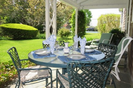 Falmouth Cape Cod vacation rental - Comfortable patio seating