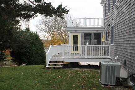 Chatham Cape Cod vacation rental - Deck from Back yard