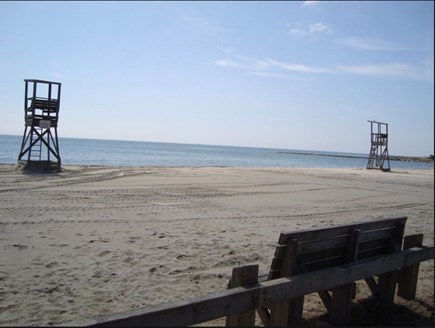 West Harwich Cape Cod vacation rental - Pleasant Rd Beach, large with 2 lifeguard spots