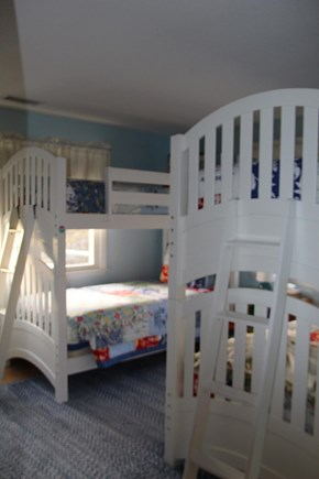 West Harwich Cape Cod vacation rental - Bedroom with 2 sets of bunk beds