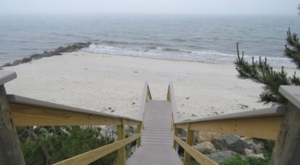 West Harwich Cape Cod vacation rental - Grey Neck Rd Beach, top of St, great spot for morning coffee
