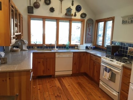 East Orleans Cape Cod vacation rental - spacious fully equipped kitchen