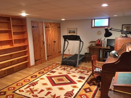 East Orleans Cape Cod vacation rental - The basement offers additional living space
