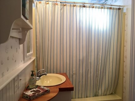 East Orleans Cape Cod vacation rental - Bathroom to wash off the beach sand