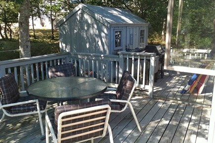East Orleans Cape Cod vacation rental - Sit on the deck and listen to the waves crashing