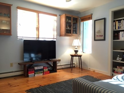 East Orleans Cape Cod vacation rental - Den with tv great spot to relax after a day at the beach