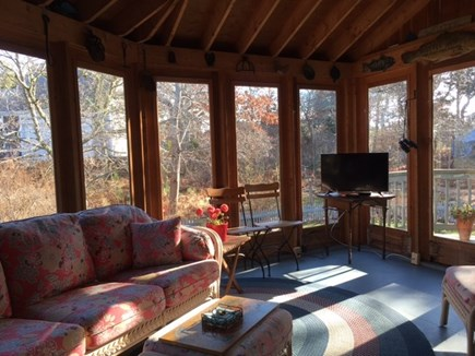East Orleans Cape Cod vacation rental - 3 Season Room surrounded by windows
