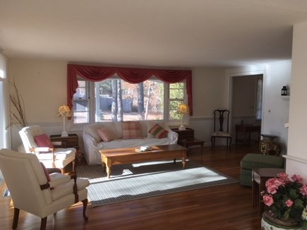 Harwich Cape Cod vacation rental - Large living room waiting for your family
