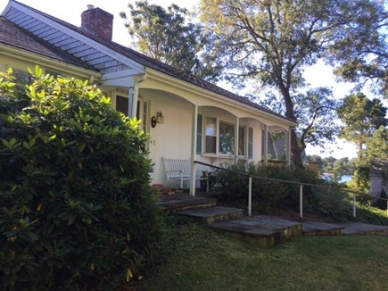 Harwich Cape Cod vacation rental - Front exterior with views of Buck's Pond