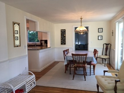 Harwich Cape Cod vacation rental - Dining Area open to the kitchen and living room