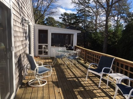 Harwich Cape Cod vacation rental - Spacious Deck with water views