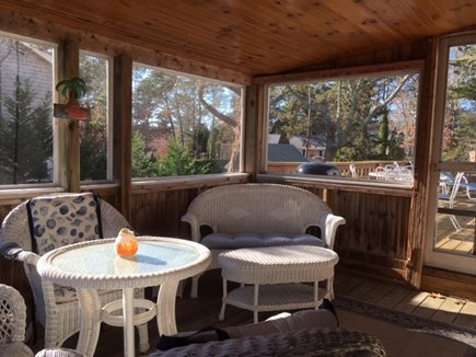 Harwich Cape Cod vacation rental - A great 3 season porch to relax on
