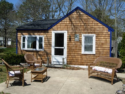 West Yarmouth Cape Cod vacation rental - Front view of 2 Bedroom Water View Kokomo Cottage.