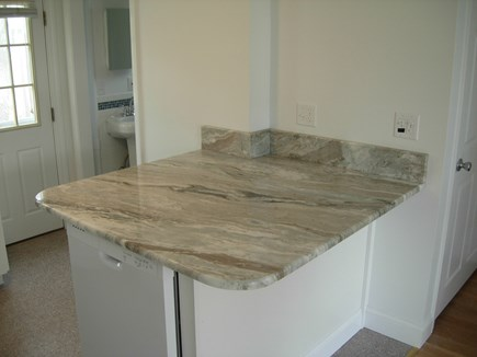 West Yarmouth Cape Cod vacation rental - Large Granite Island in the Kitchen Area for Dining Area.