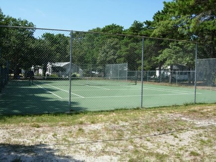 West Yarmouth Cape Cod vacation rental - Newly renovated Tennis Court for all to use.