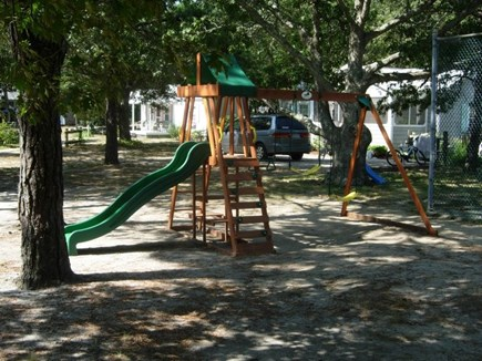 West Yarmouth Cape Cod vacation rental - A Children's Playground next to the Tennis Court and picnic area.