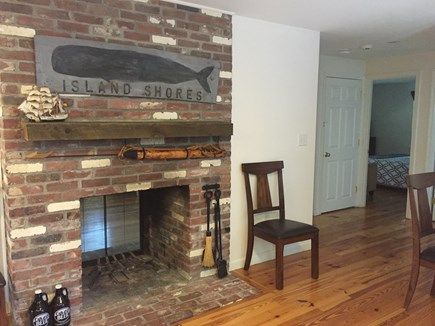 Centerville Centerville vacation rental - Double-sided fireplace (kitchen)