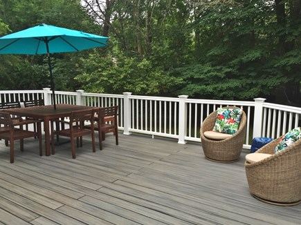 Centerville Centerville vacation rental - Newly built back deck