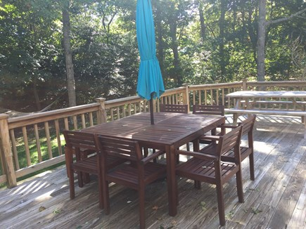 Centerville Centerville vacation rental - Large private deck