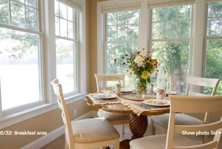 Pocasset, Bourne Pocasset vacation rental - Watch ospreys while dining.
