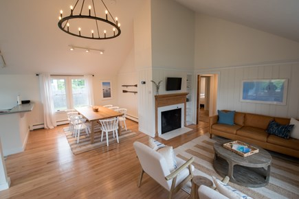 Falmouth Cape Cod vacation rental - Living Room  / Dining Area