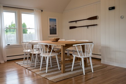 Falmouth Cape Cod vacation rental - Dining Area with seating for 8