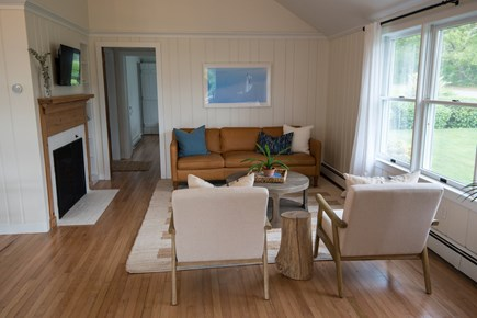 Falmouth Cape Cod vacation rental - Living Room with new Smart TV