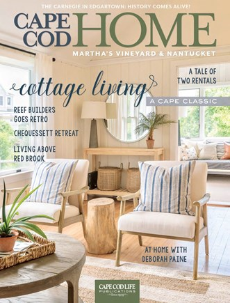 Falmouth Cape Cod vacation rental - Cover Photo in Cape Cod Home magazine in 2019