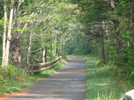 Eastham Cape Cod vacation rental - Bike Trail, right around the corner. Easy walk to bike rentals.
