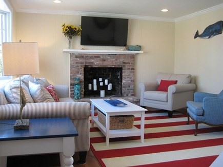 Chatham Cape Cod vacation rental - Lliving room is perfect for watching movies or a cozy gathering.