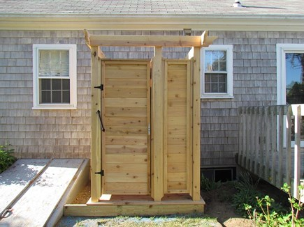 Chatham Cape Cod vacation rental - No beach home is complete w/o an outdoor shower!