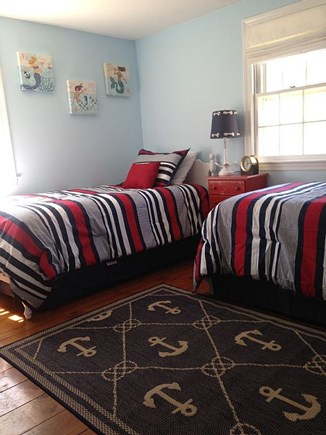 Chatham Cape Cod vacation rental - Second bedroom, first floor, twin beds