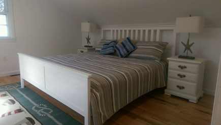 Chatham Cape Cod vacation rental - Third bedroom with king-sized bed, second floor