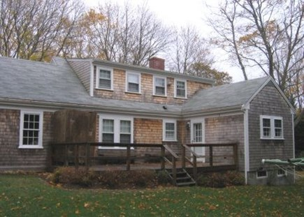 Brewster Cape Cod vacation rental - Back of home, large back yard