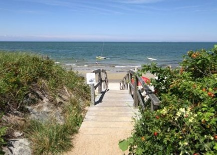 Brewster Cape Cod vacation rental - Beach access, just s short stroll from the cottage