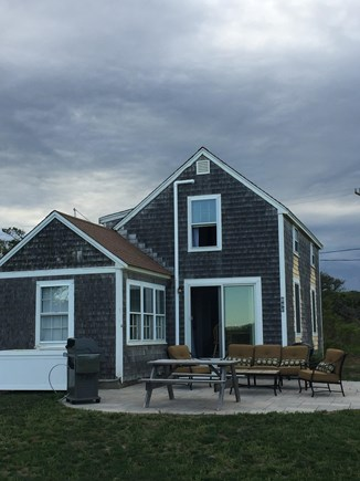 Eastham Cape Cod vacation rental - You'll love being on the patio listening to the waves!