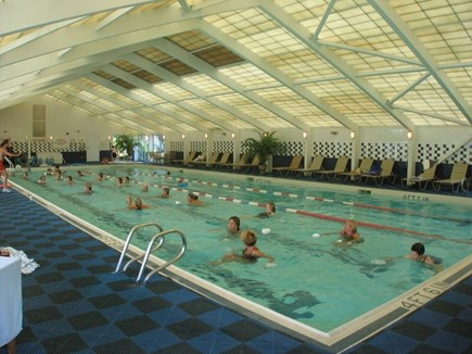 Brewster Cape Cod vacation rental - Indoor pool area
