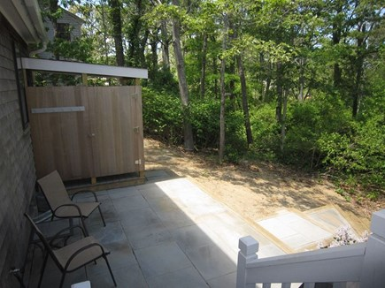 Brewster Cape Cod vacation rental - Beautiful outdoor shower area