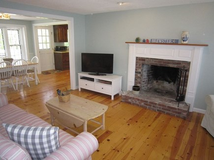 Brewster Cape Cod vacation rental - Enjoy a family movie in this great space