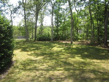 Brewster Cape Cod vacation rental - Spacious back yard